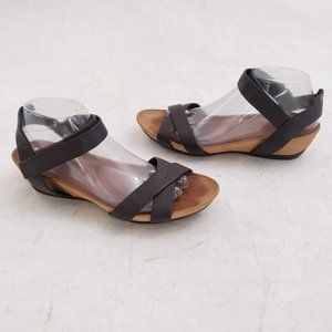 🤎 Camper Leather Sandals Size 40 Rubber Soles 🤎